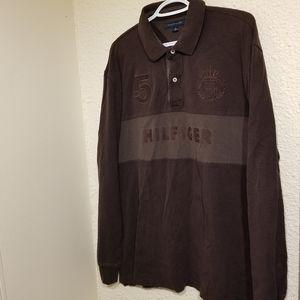Tommy Hilfiger 2 Button Long Sleeve Shirt